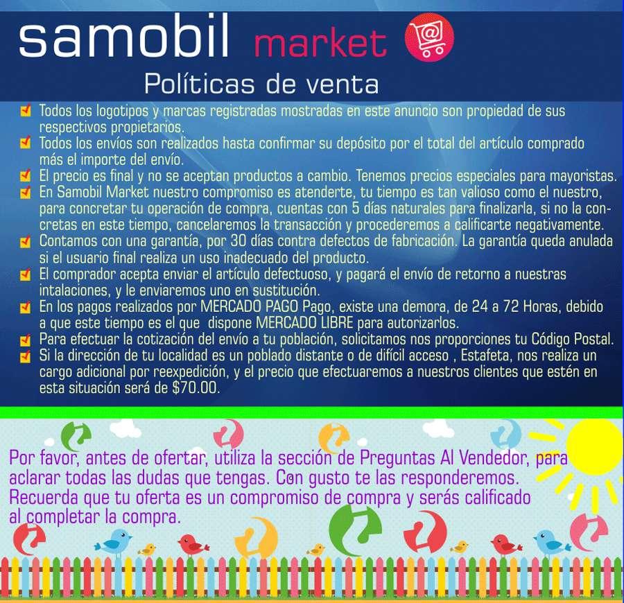 SAMOBIL PIE DE ANUNCIO