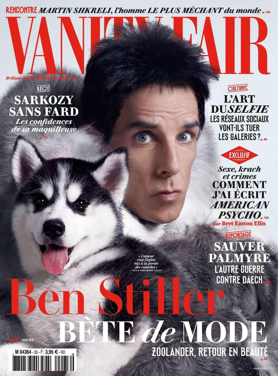 Vanity Fair 33 - Mars 2016