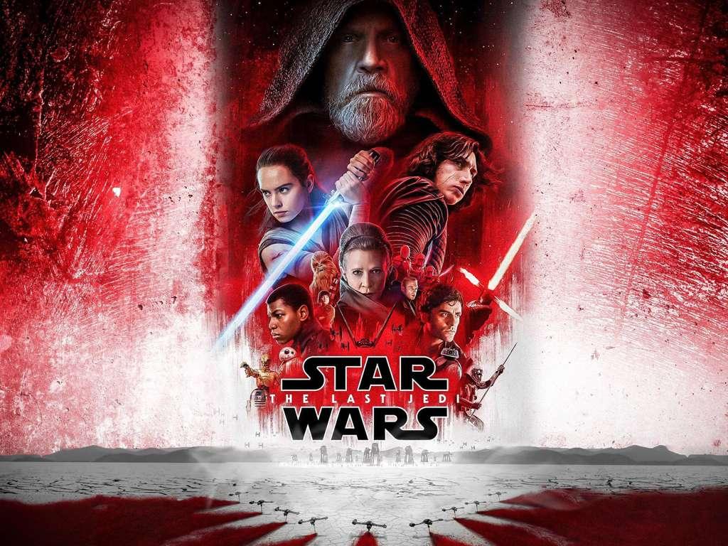 Star Wars: Οι Τελευταίοι Τζεντάι (Star Wars: The Last Jedi) Quad Poster Πόστερ