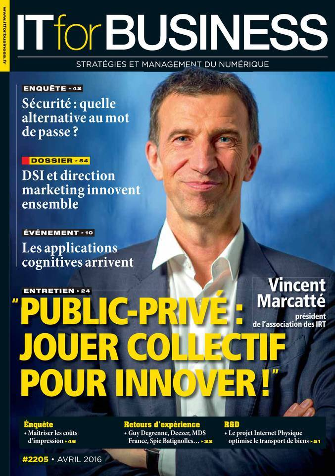 IT for Business 2205 - Avril 2016