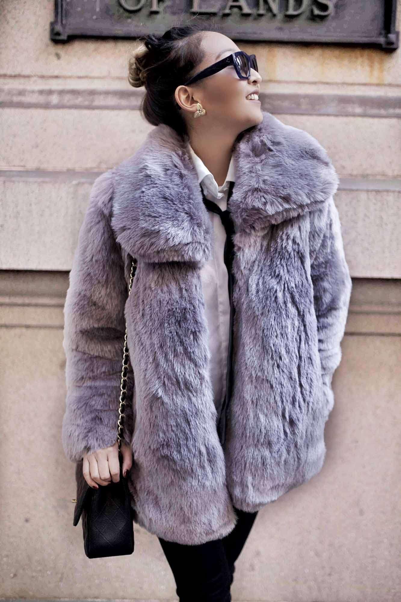Haus of Song Fur Jacket