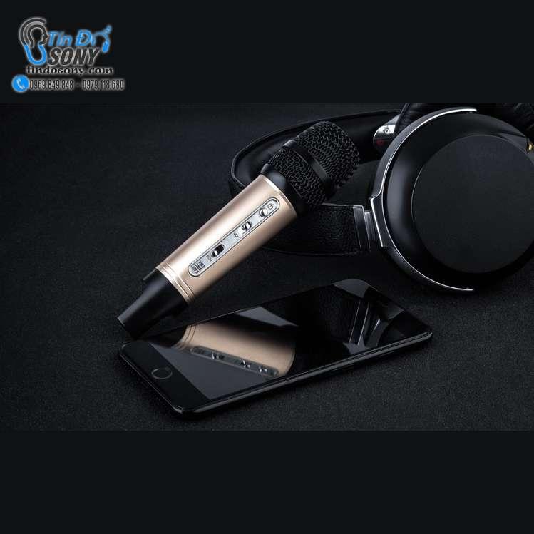 Mic hát karaoke Mini dành cho điện thoại và ôtô