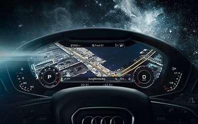 2018 Audi A4 Virtual Cockpit Display