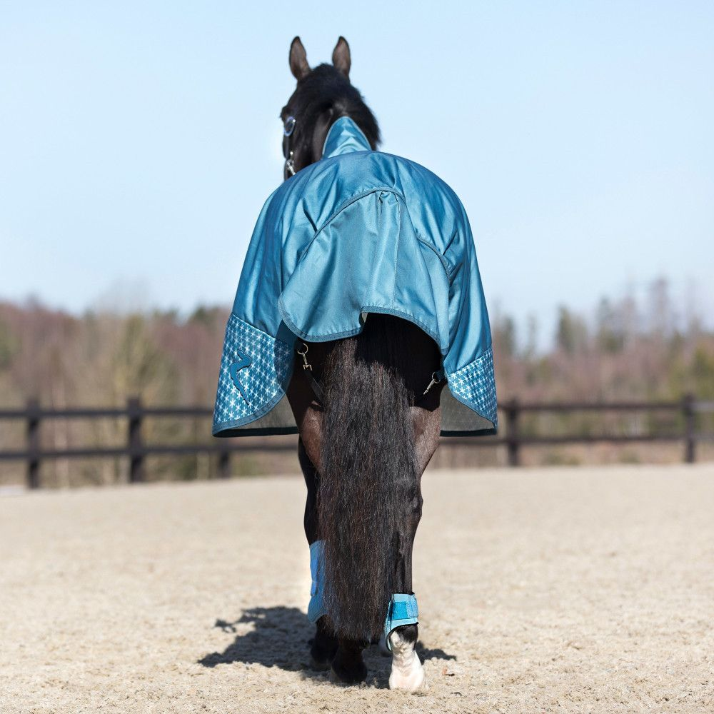 New Horze Avalanche 1200D Turnout Sheet with Fleece Lining Waterproof