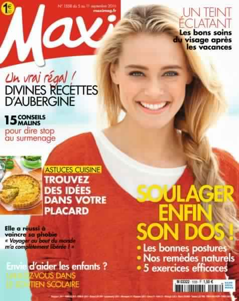 Maxi – 05 au 11 Septembre 2016