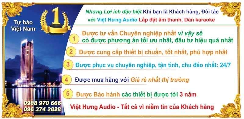 Lợi ích khi mua loa hội trường tại Việt Hưng Audio