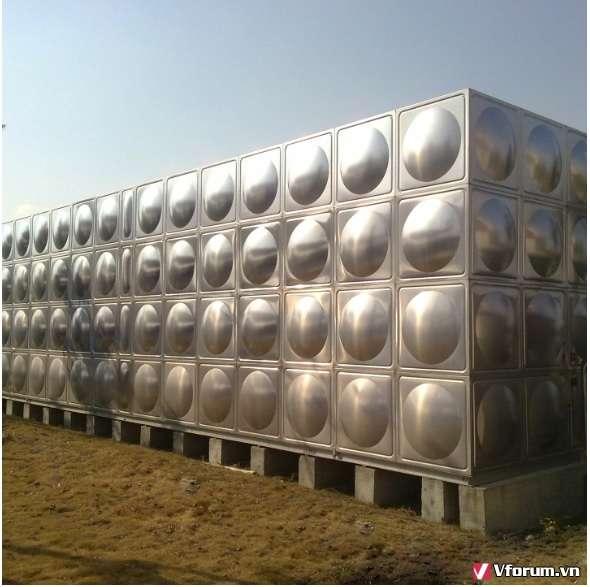 Bể chứa nước dạng lắp ghép