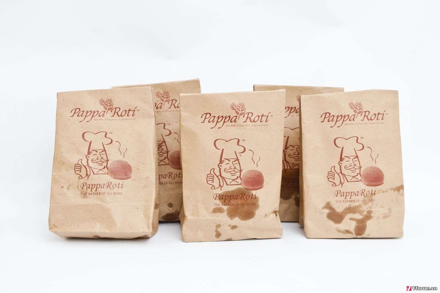 In túi giấy đựng thực phẩm giá rẻ chất lượng nhất