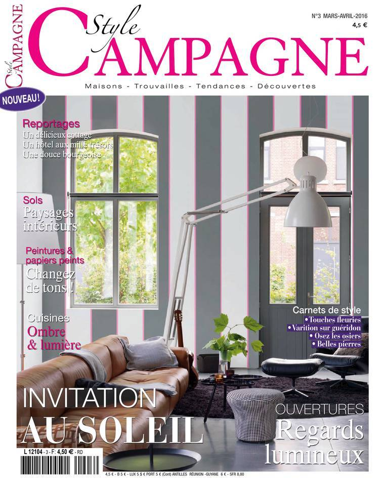 Style Campagne - Mars/Avril 2016
