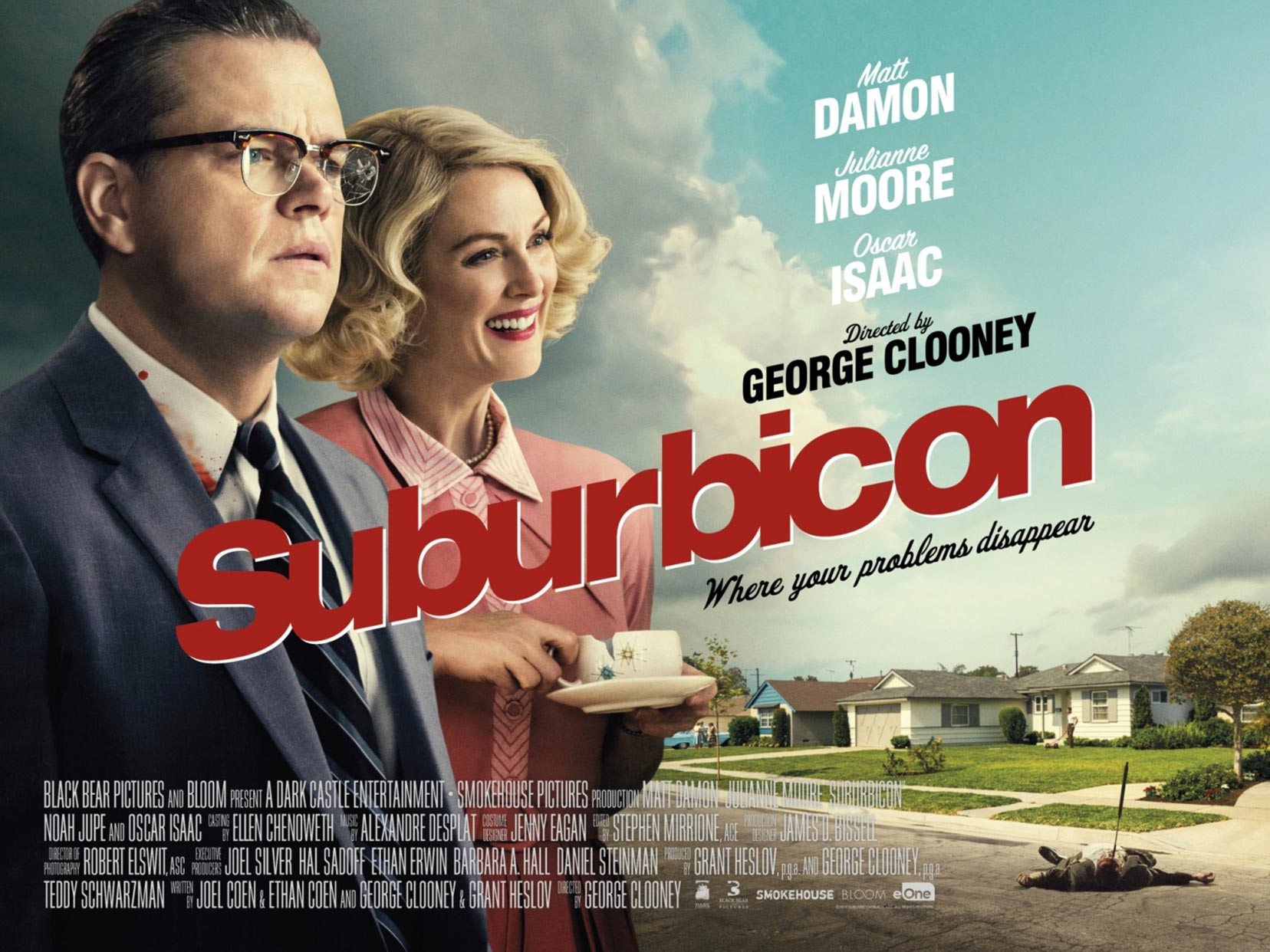 Suburbicon Quad Poster