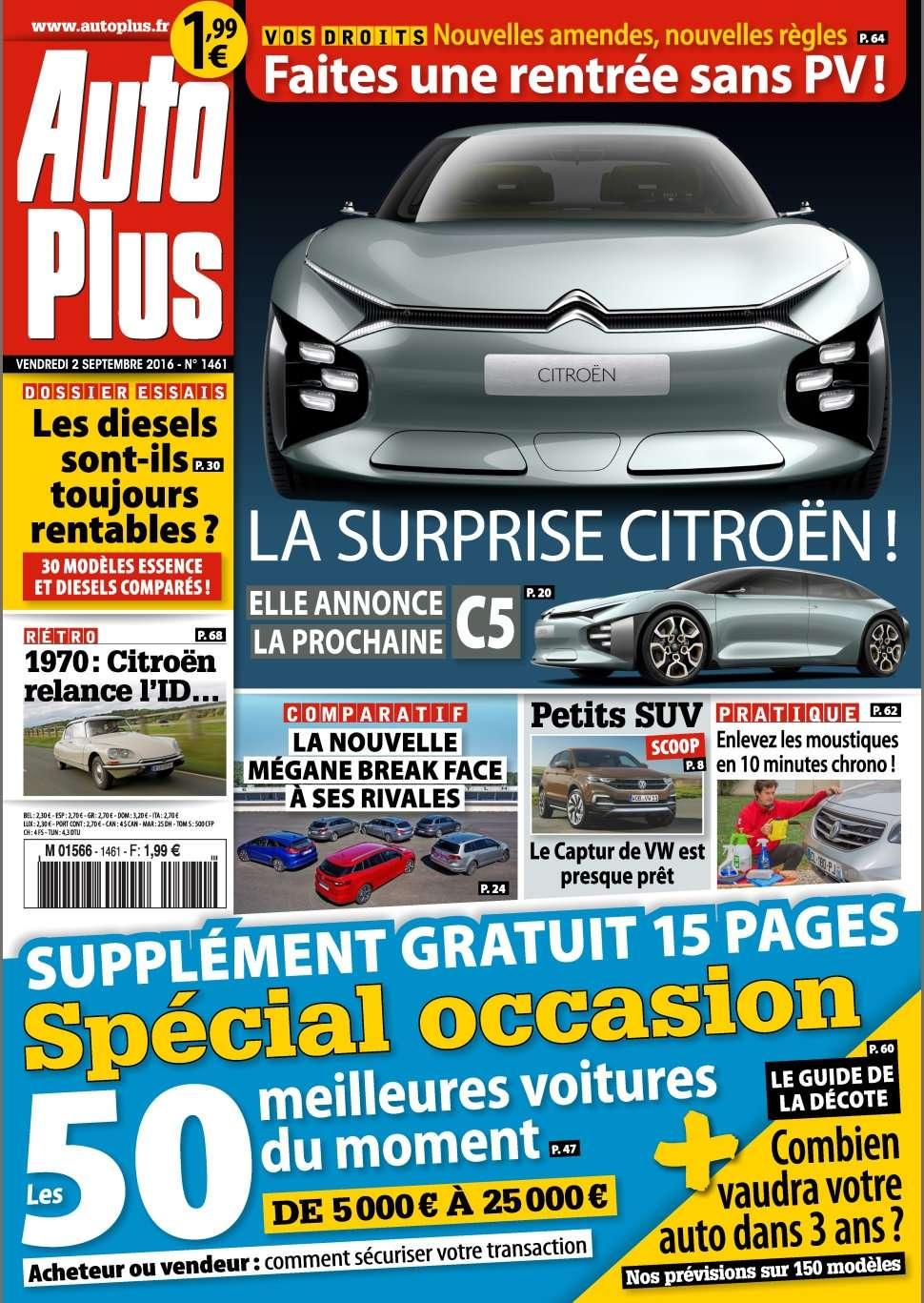 Auto Plus 1461 - 02 au 08 Septembre 2016