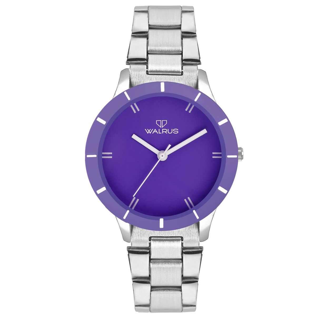 Walrus Eve Chain Purple Color Analog Women Watch -WWW-Eve -CH-140707