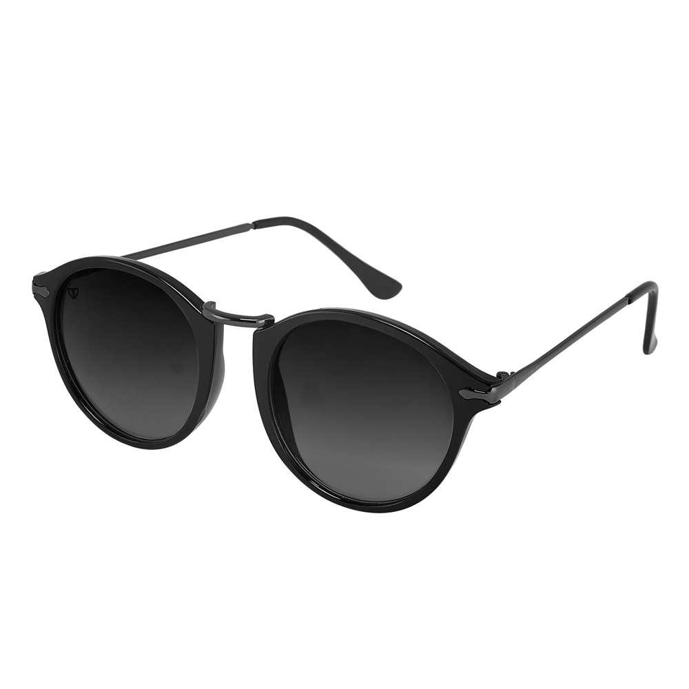 Walrus Jackson Black Color Unisex Oval Sunglass - WS-JKSN-II-020218
