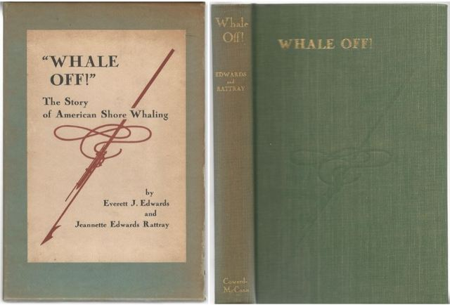 Whale off!: The story of American shore whaling,, Edwards, Everett Joshua