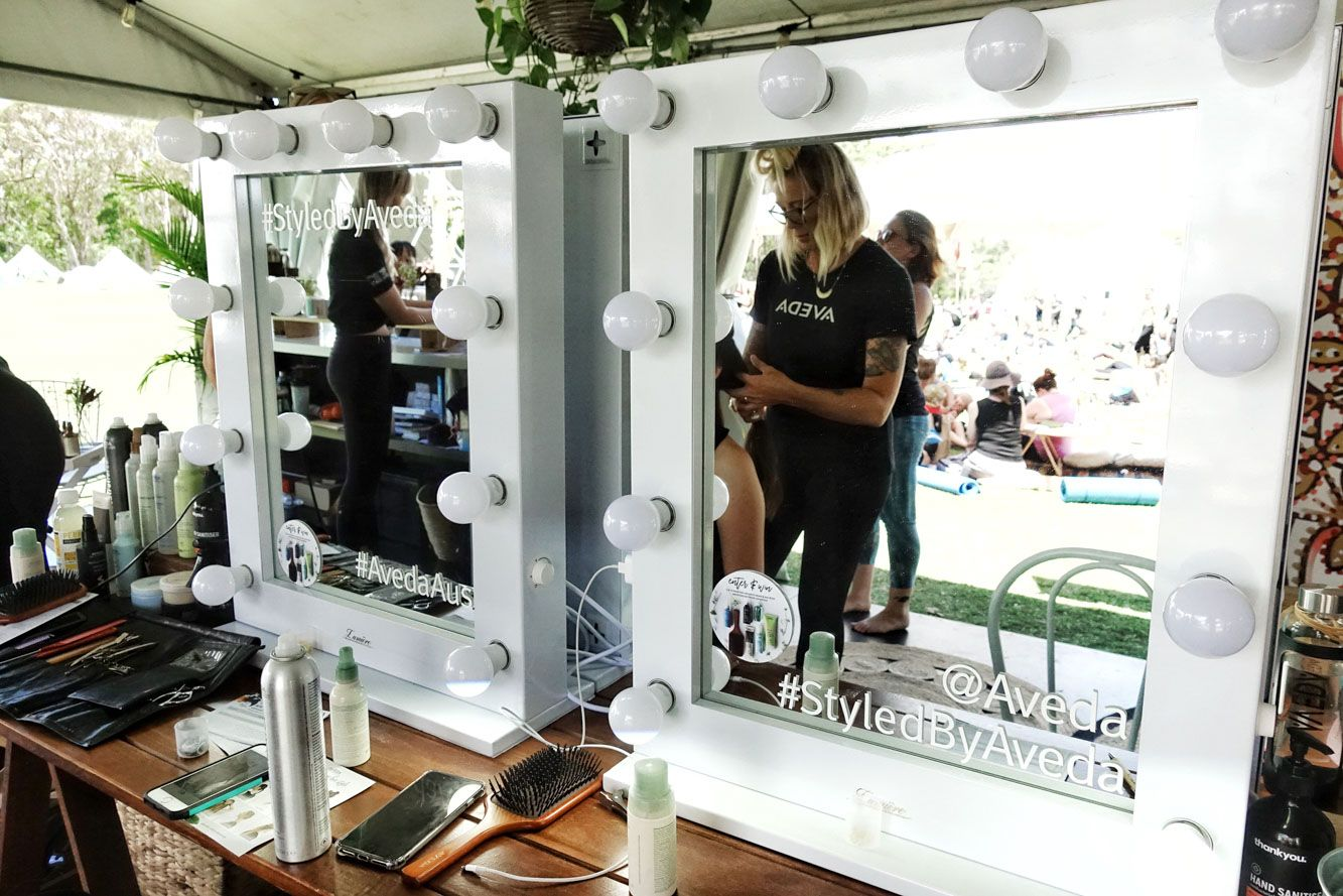 Aveda Beauty Bar, Wanderlust Festival 2017