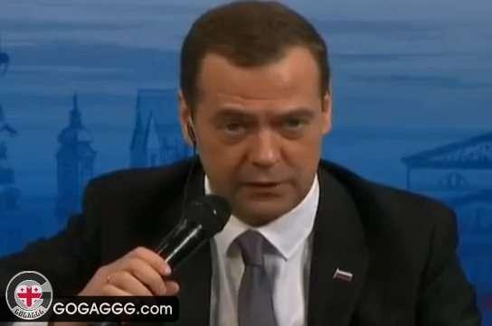 ითანამშრომლებს თუ არა რუსეთი ჰააგის სასამართლოსთან, მედვევევი კითხვას უპასუხოდ ტოვებს