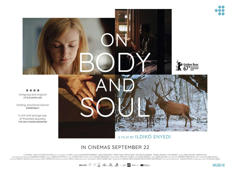 Η ψυχή και το σώμα (Teströl és lélekröl) Poster Πόστερ