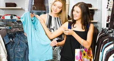 roupas no exterior