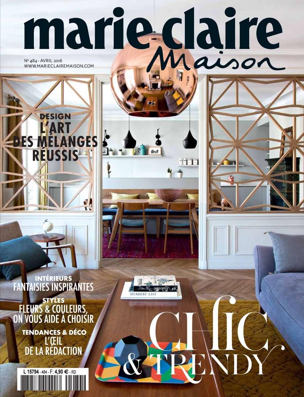Marie Claire Maison 484 - Avril 2016