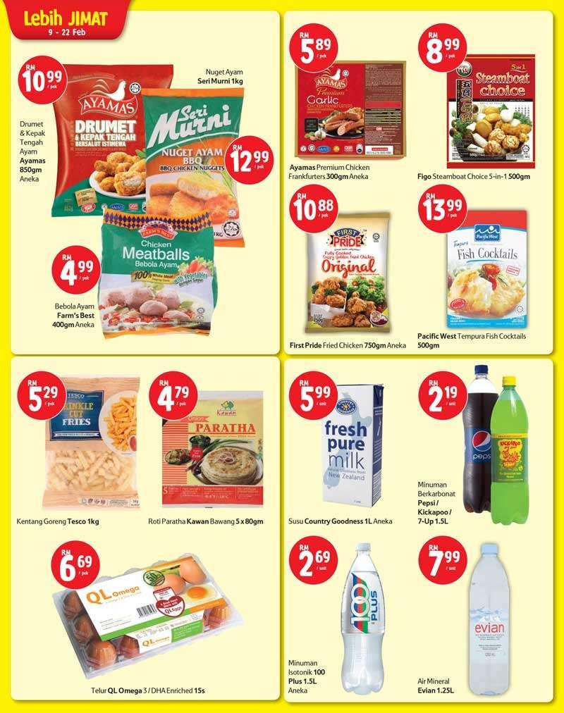 Tesco Malaysia Weekly Catalogue (9 February 2017 - 15 February 2017)