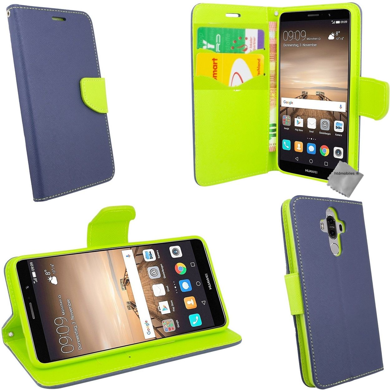 Housse etui coque pochette portefeuille pour huawei mate 9 for Housse huawei mate 9