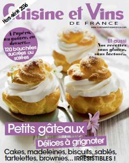 Cuisine et Vins de France - Hors Serie 2016
