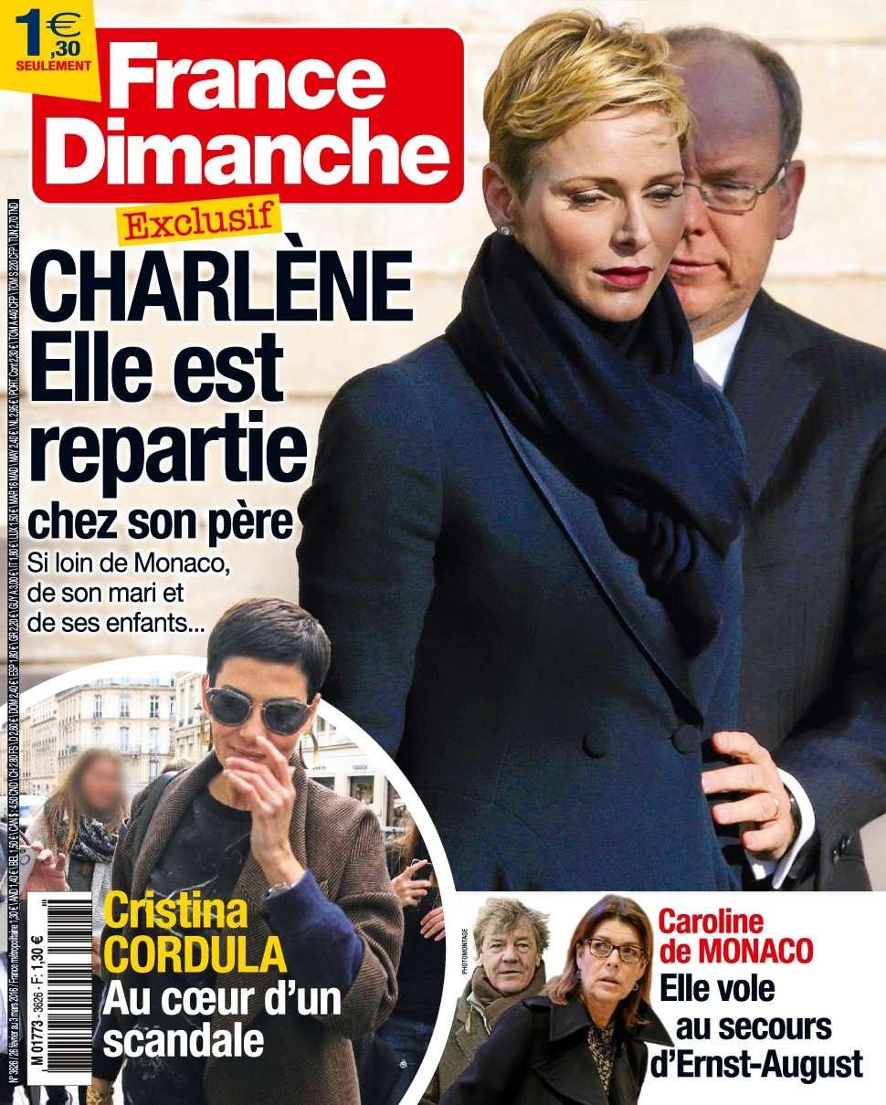 France Dimanche 3626 - 28 Février au 5 Mars 2016