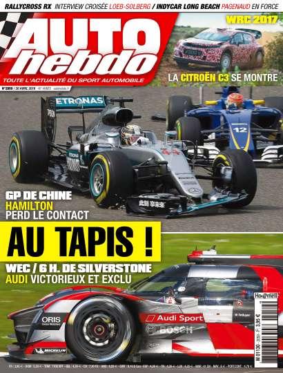 Auto Hebdo - 20 Avril 2016