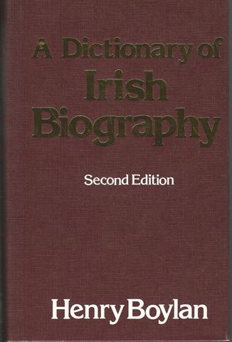 A Dictionary of Irish Biography