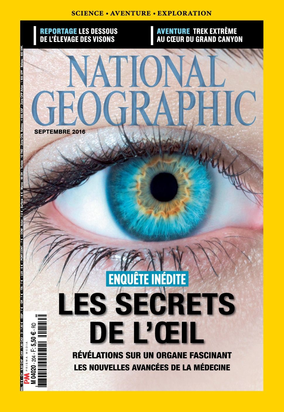 National Geographic 204 - Septembre 2016