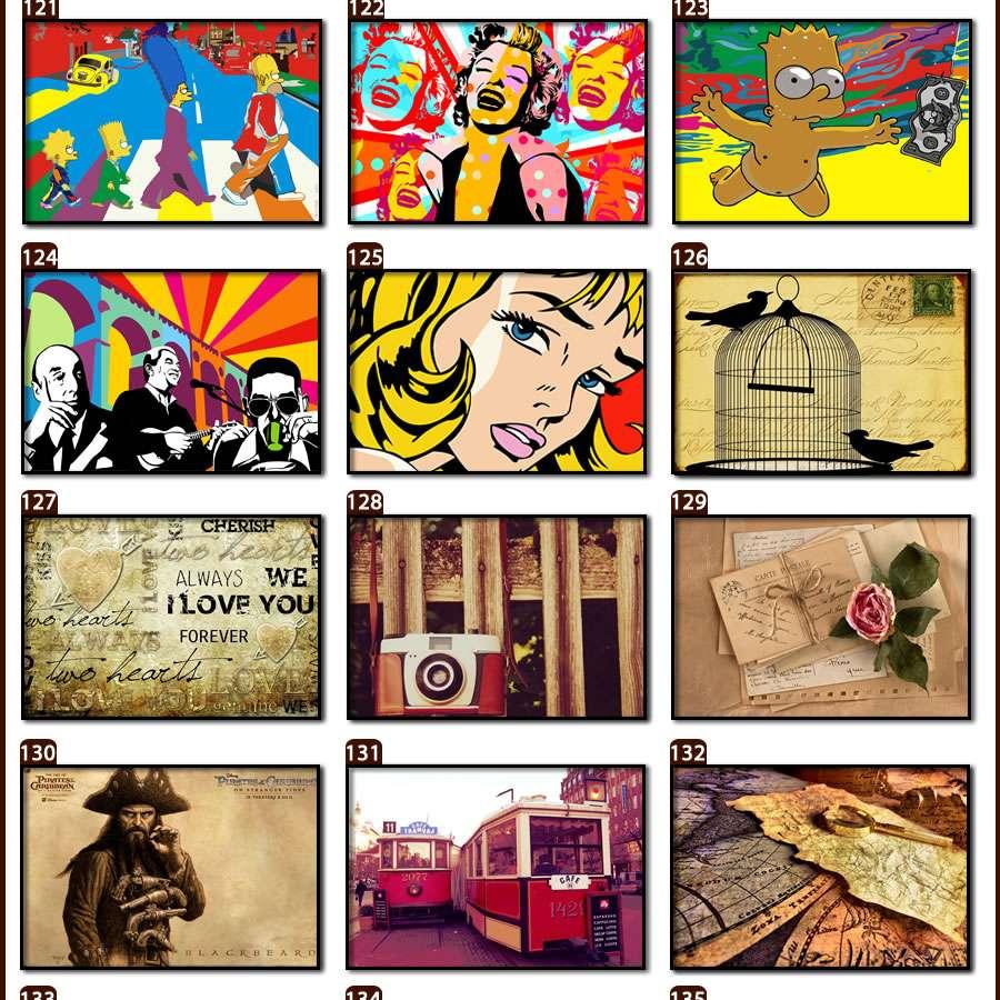 Placas, Vintage, Retro, Cerveja, Decoração, Antigas, MDF, Mundo, Shell, Trem, Cavalos, Rádio, Ponte, Flores, Grécia