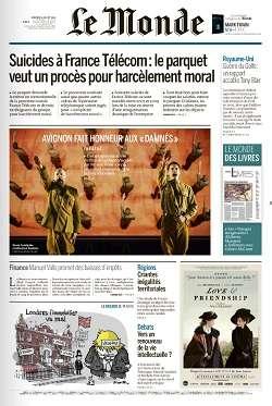 Le Monde et Suppléments du Vendredi 8 Juillet 2016
