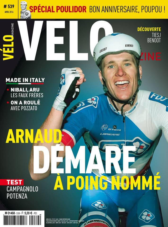 Vélo Magazine - Avril 2016