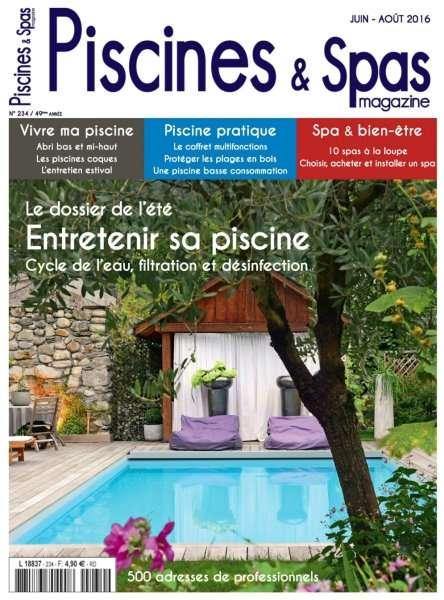 Piscines et Spas 234 - Juin-Août 2016