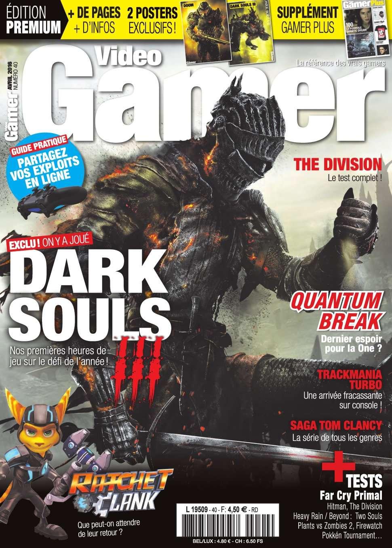 Video Gamer 40 - Avril 2016
