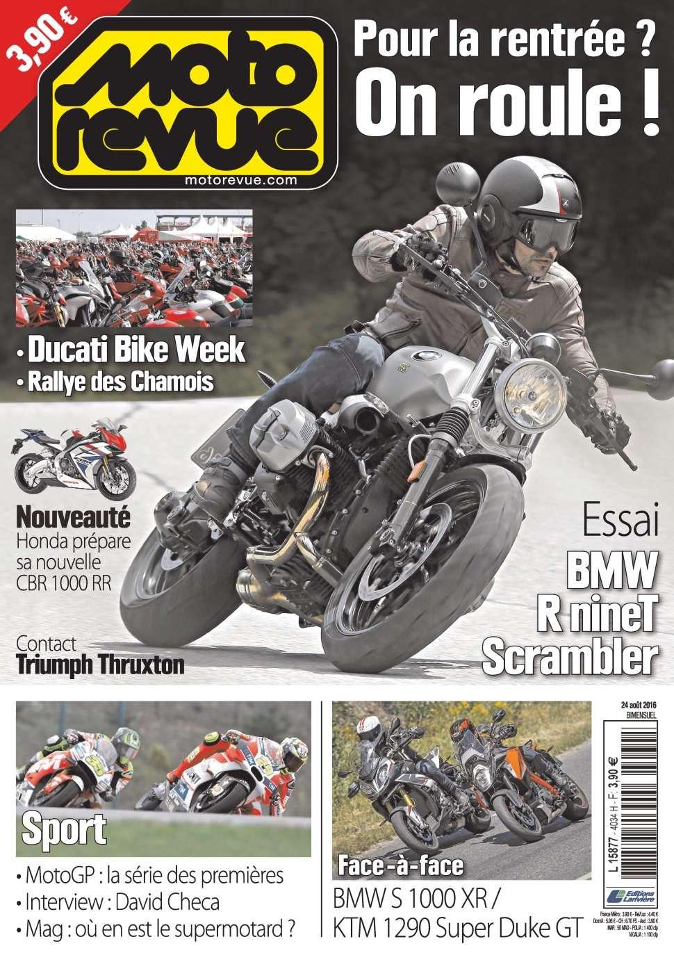 Moto Revue 4034 - 24 Août 2016