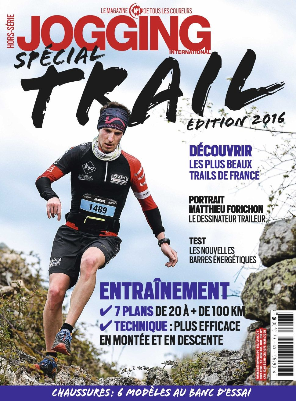 Jogging International Hors-Série 2027 - Spécial Trail Edition 2016