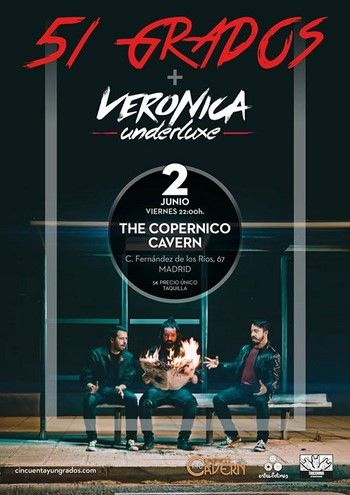 51 Grados - Veronica Underluxe cartel