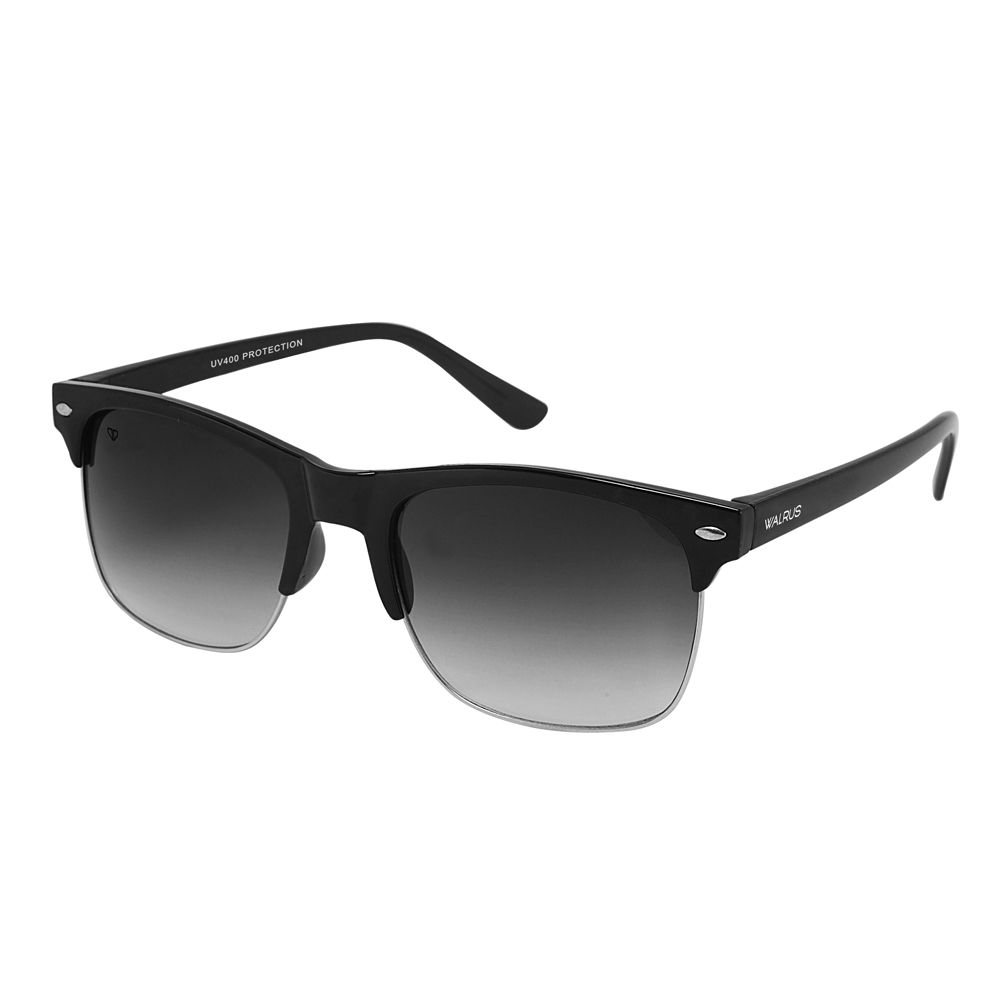 Walrus Levi Black Color Unisex Wayfarer Sunglass - WS-LEVI-020702
