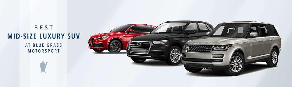 Best Midsize Luxury SUVs