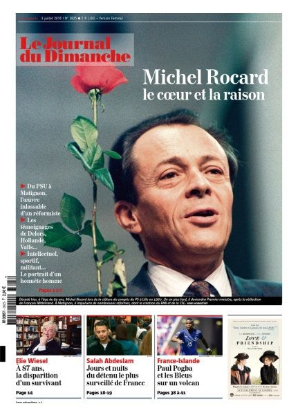 Le Journal du Dimanche 3625 - 3 Juillet 2016