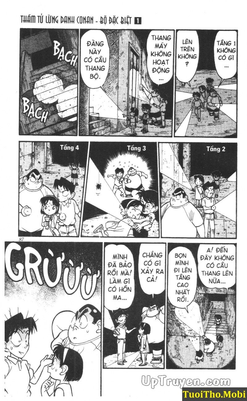 đọc truyện Conan bộ đặc biệt chap 5 trang 4