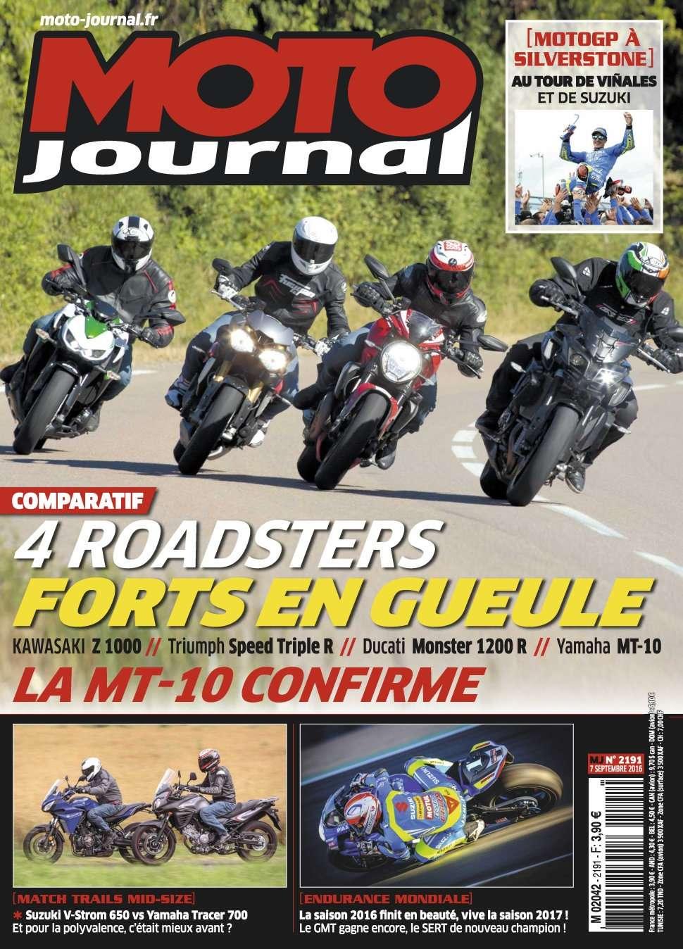 Moto Journal 2191 - 7 Septembre 2016