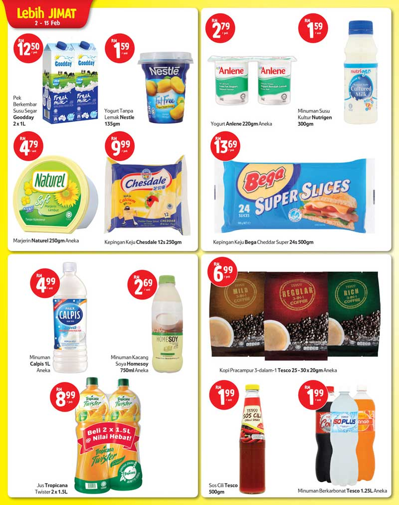 Tesco Malaysia Weekly Catalogue (2 February 2017 - 8 February 2017)