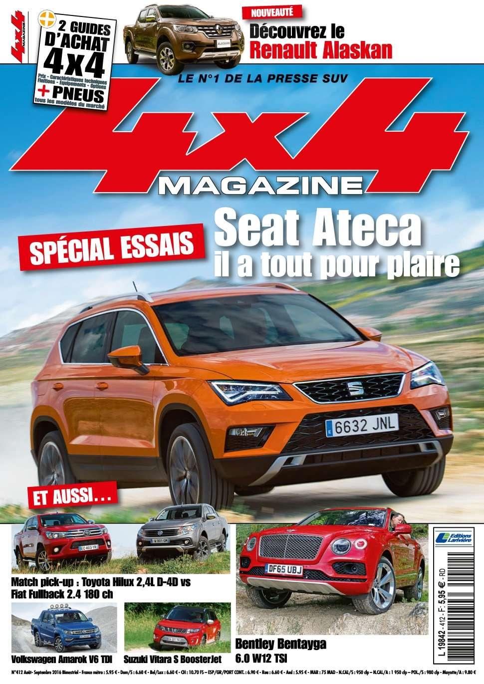 4x4 magazine 412 - Aout/Septembre 2016