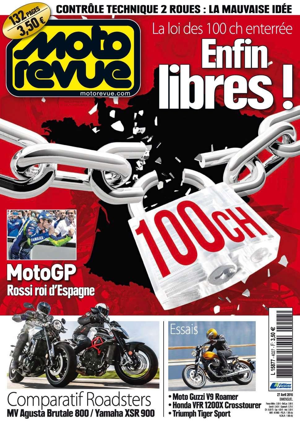 Moto Revue 4027 - 27 Avril 2016