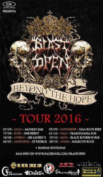 Blast Open Tour cartel