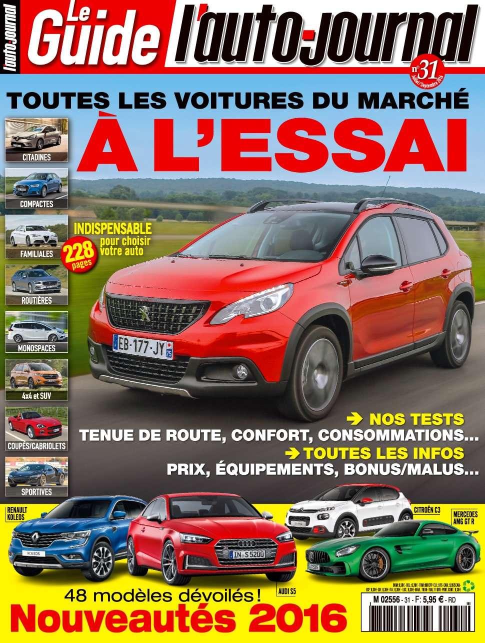L'Auto-Journal (Le Guide) 31 - Aout/Septembre 2016