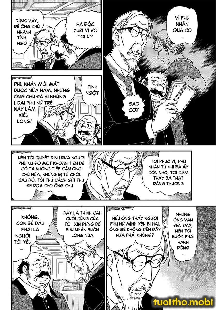 Detective Conan Chap 1012 - Trang 8