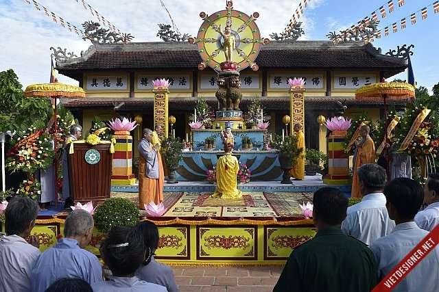 Nam Đông:Lễ chính thức Đại lễ Phật đản PL.2562 tại huyện Nam Đông